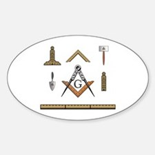 Working Tools No. 5 Oval Decal