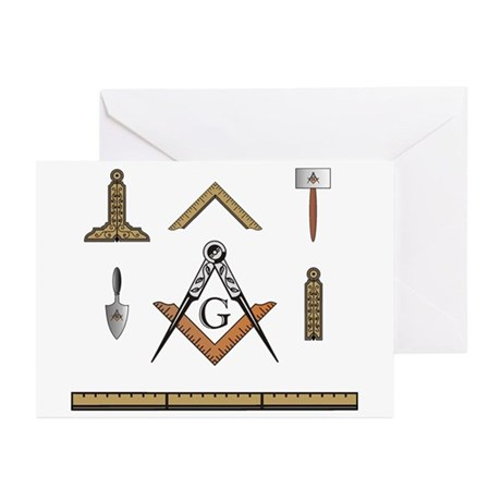 Working Tools No. 5 Greeting Cards (Pk of 10)