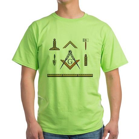 Working Tools No. 5 Green T-Shirt