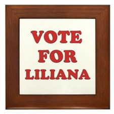 Vote for LILIANA Framed Tile