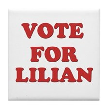 Vote for LILIAN Tile Coaster