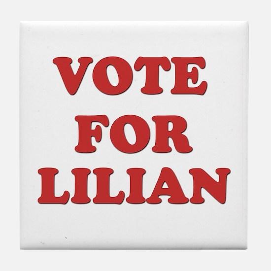Vote for LILIAN Tile Coaster