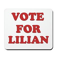 Vote for LILIAN Mousepad