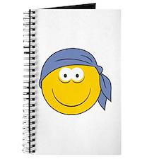 Bandana Smiley Face Design Journal