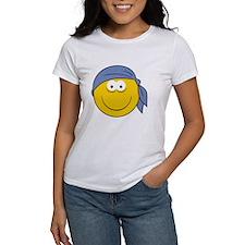 Bandana Smiley Face Design Tee