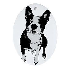 Lola Cannoli Oval Ornament