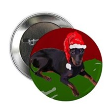 "Manchester Christmas 2.25"" Button"