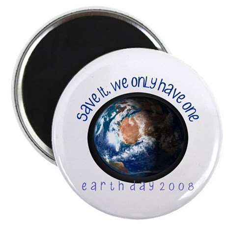 """Save the Earth 08 2.25"""" Magnet (100 pack)"""
