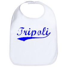 Vintage Tripoli (Blue) Bib
