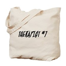 """Therapist #7"" Tote Bag"