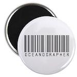 Oceanographer Barcode Magnet
