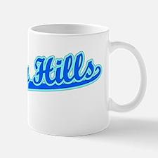 Retro Beverly Hills (Blue) Mug