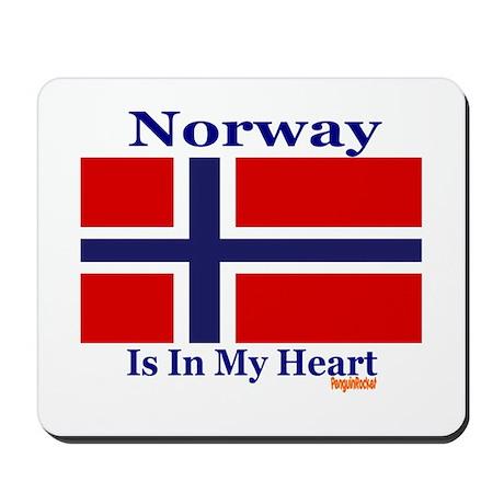 Norway - Heart Mousepad