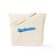 Retro Binghamton (Blue) Tote Bag