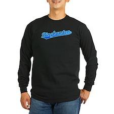 Retro Binghamton (Blue) T