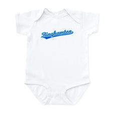 Retro Binghamton (Blue) Infant Bodysuit