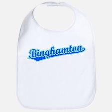 Retro Binghamton (Blue) Bib