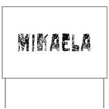 Mikaela Faded (Black) Yard Sign