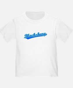 Retro Blacksburg (Blue) T
