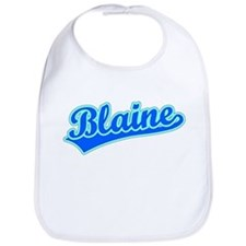 Retro Blaine (Blue) Bib