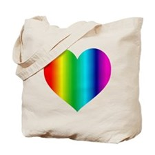 SUPER GAY RAINBOW Tote Bag