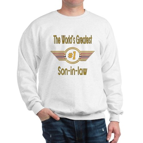 Number 1 Son-in-law Sweatshirt
