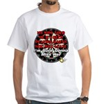 Wives, Darts White T-Shirt