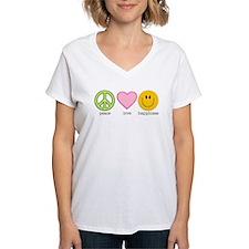 Peace Love & Happiness Shirt