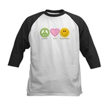 Peace Love & Happiness Tee