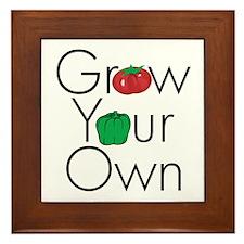 Grow Your Own Framed Tile