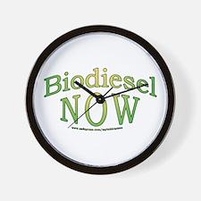 Biodiesel NOW! Wall Clock