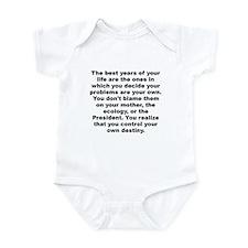 Cute Albert ellis quote Infant Bodysuit