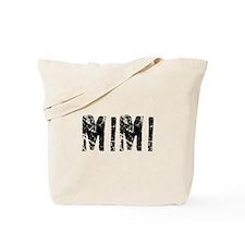 Mimi Faded (Black) Tote Bag