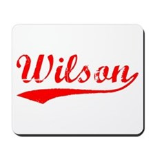 Vintage Wilson (Red) Mousepad