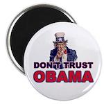 """Don't Trust Obama 2.25"""" Magnet (10 pack)"""