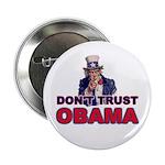 "Don't Trust Obama 2.25"" Button"