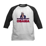 Don't Trust Obama Kids Baseball Jersey