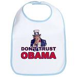 Don't Trust Obama Bib