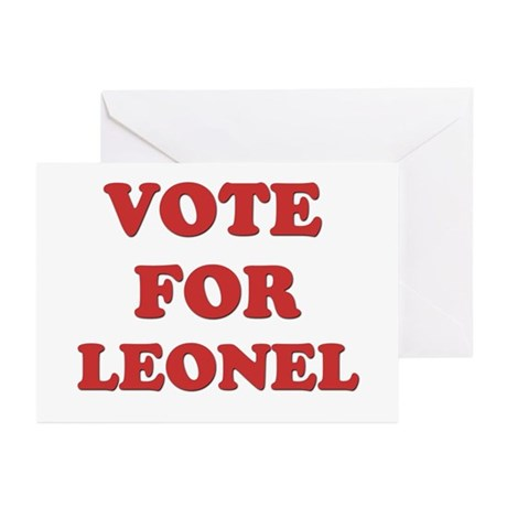 Vote for LEONEL Greeting Cards (Pk of 20)