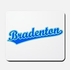 Retro Bradenton (Blue) Mousepad