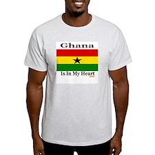 Ghana - Heart T-Shirt