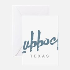 Lubbock Texas Greeting Cards