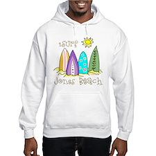 Jones Beach Surfer Hoodie