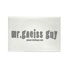 Mr Gneiss Guy Rectangle Magnet