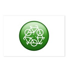Recycle Bicycle Postcards (Package of 8)