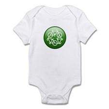 Recycle Bicycle Infant Bodysuit