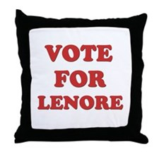 Vote for LENORE Throw Pillow