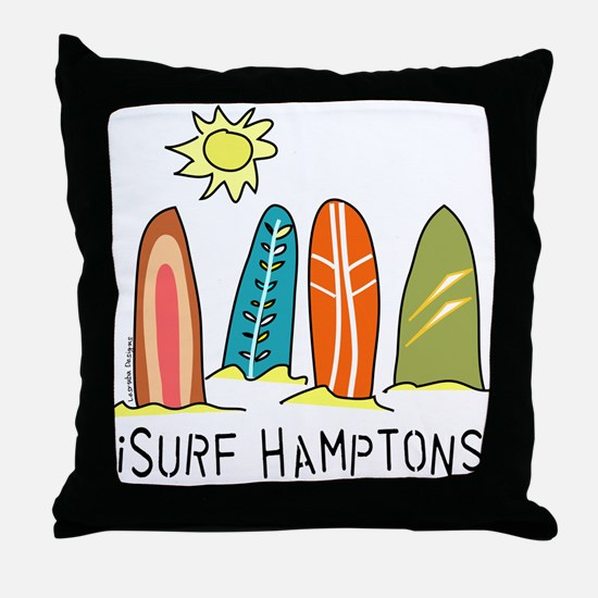 iSurf Hamptons Throw Pillow