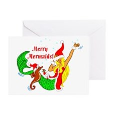 Merry Mermaids Greeting Cards (Pk of 10)
