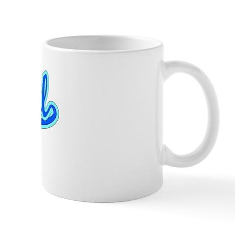 Retro Bristol (Blue) Mug